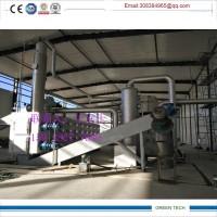 油泥气化干馏设备日处理量20吨